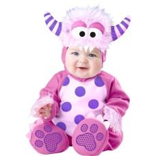 ชุดแฟนซีเด็ก Pink Monster Baby Fancy Dress Costume