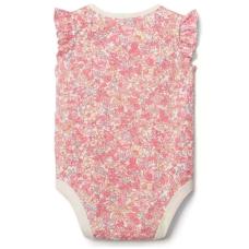 บอดี้สูทเด็ก GAP Floral flutter bodysuit