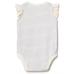 บอดี้สูทเด็ก GAP Embellished whale stripe flutter bodysuit