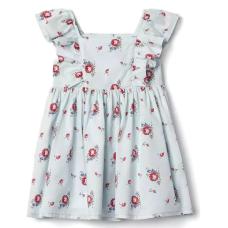 เสื้อผ้าเด็ก GAP Floral flutter dress