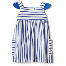 เสื้อผ้าเด็ก GAP Stripe-block flutter dress