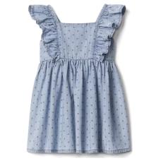เสื้อผ้าเด็ก GAP Floral chambray flutter dress
