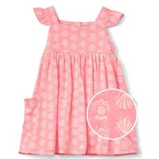 เสื้อผ้าเด็ก GAP Pearls and shells flutter dress