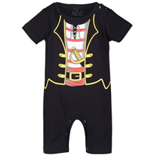 เสื้อผ้าเด็ก Mombebe Baby Boys' Pirate Costume Romper