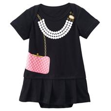 เสื้อผ้าเด็ก Mombebe Baby Girls' Party Dress Romper