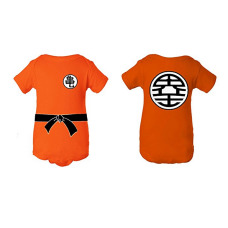 บอดี้สูทเด็ก A Tee Tee Monster Baby Dragon Ball Z Goku