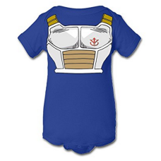 บอดี้สูทเด็ก Tee Tee Monster Baby Boys'Dragon Ball Z Vegeta