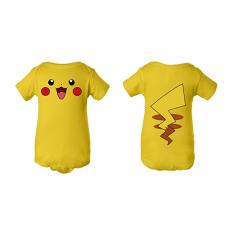 บอดี้สูทเด็ก Tee Tee Monster Baby Pikachu Pokemon