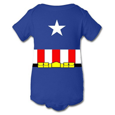 บอดี้สูทเด็ก A Tee Tee Monster Baby Captain America