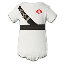 บอดี้สูทเด็ก Tee Tee Monster Baby Boys'G.I. Joe Storm Shadow