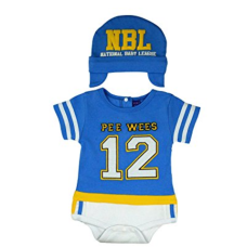 เสื้อผ้าเด็ก Sozo Baby-Boys Newborn Football Bodysuit and Cap Set
